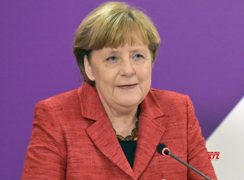 Merkel bids emotional farewell to CDU party