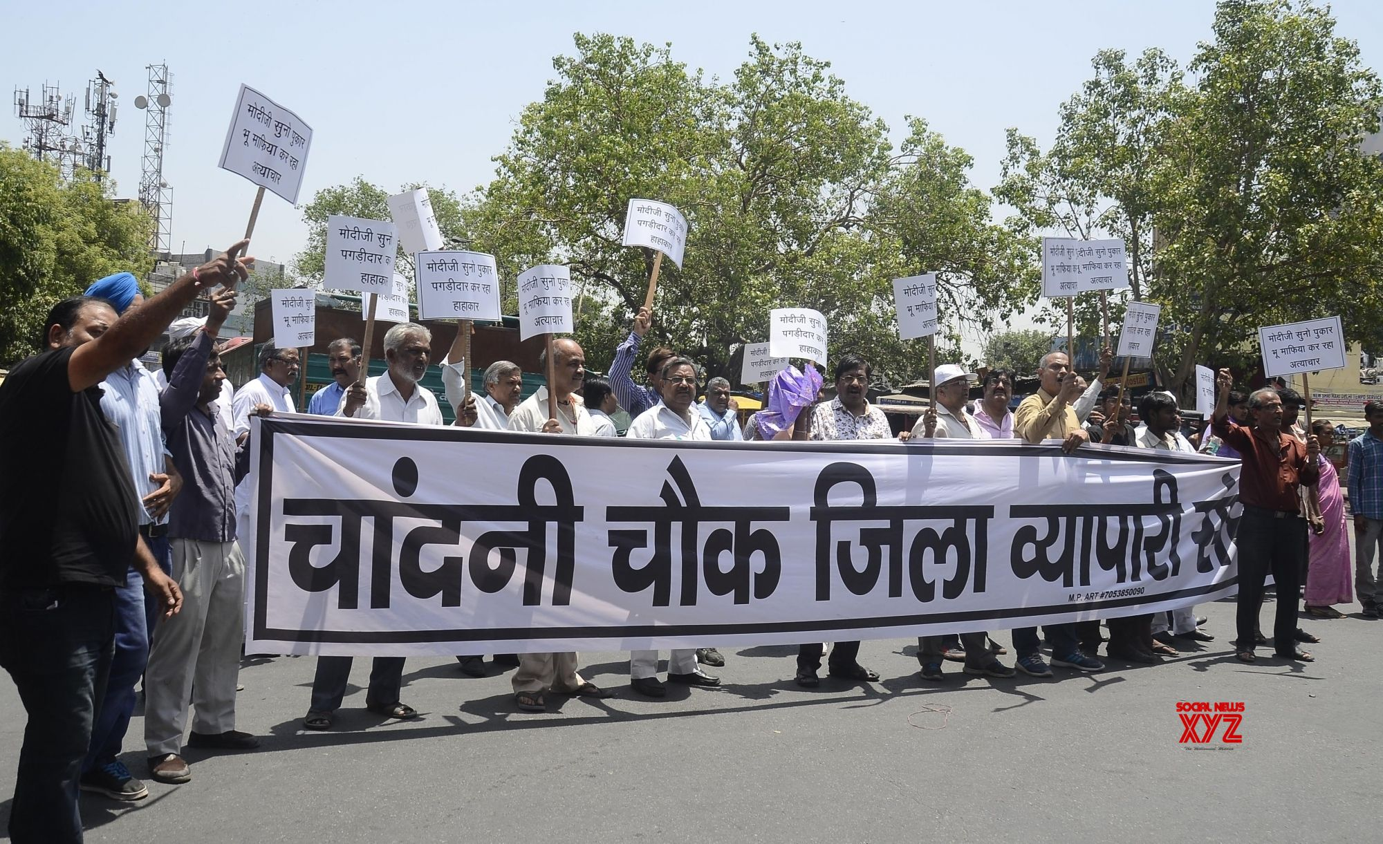 Old Delhi traders protest Rent Control Act fearing eviction