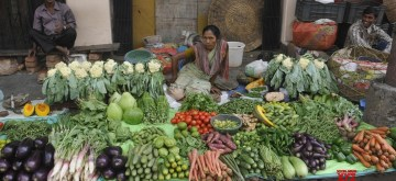 Vegetable market. (File Photo: IANS)