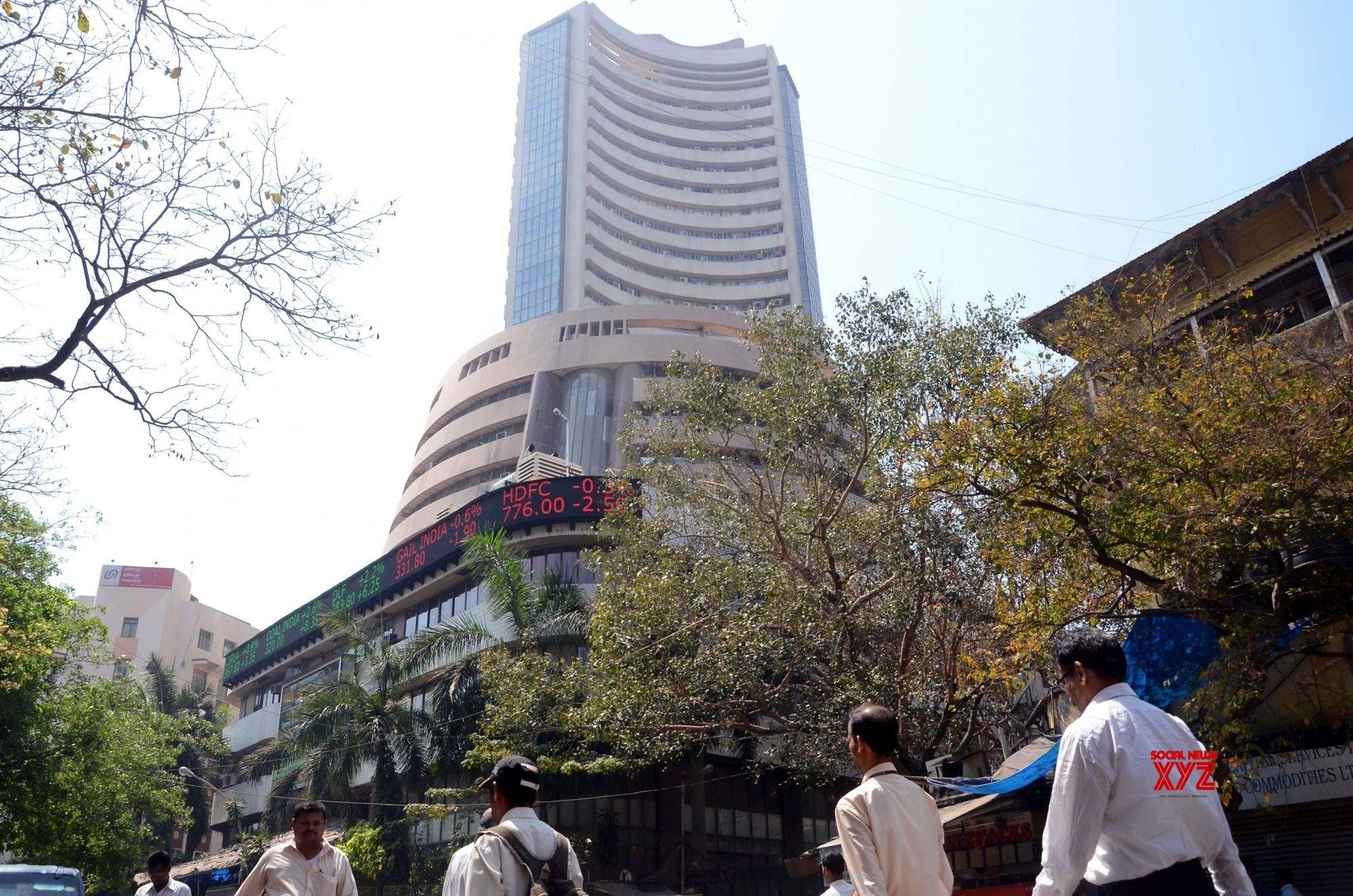 Sensex soars 1,400 points; banking, finance stocks surge