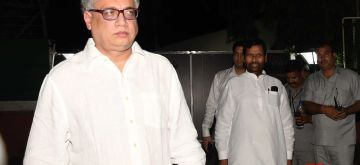 New Delhi: Trinamool Congress leader Derek O'Brien leaves after an all-party meeting in New Delhi, on July 14, 2017. (Photo: IANS)