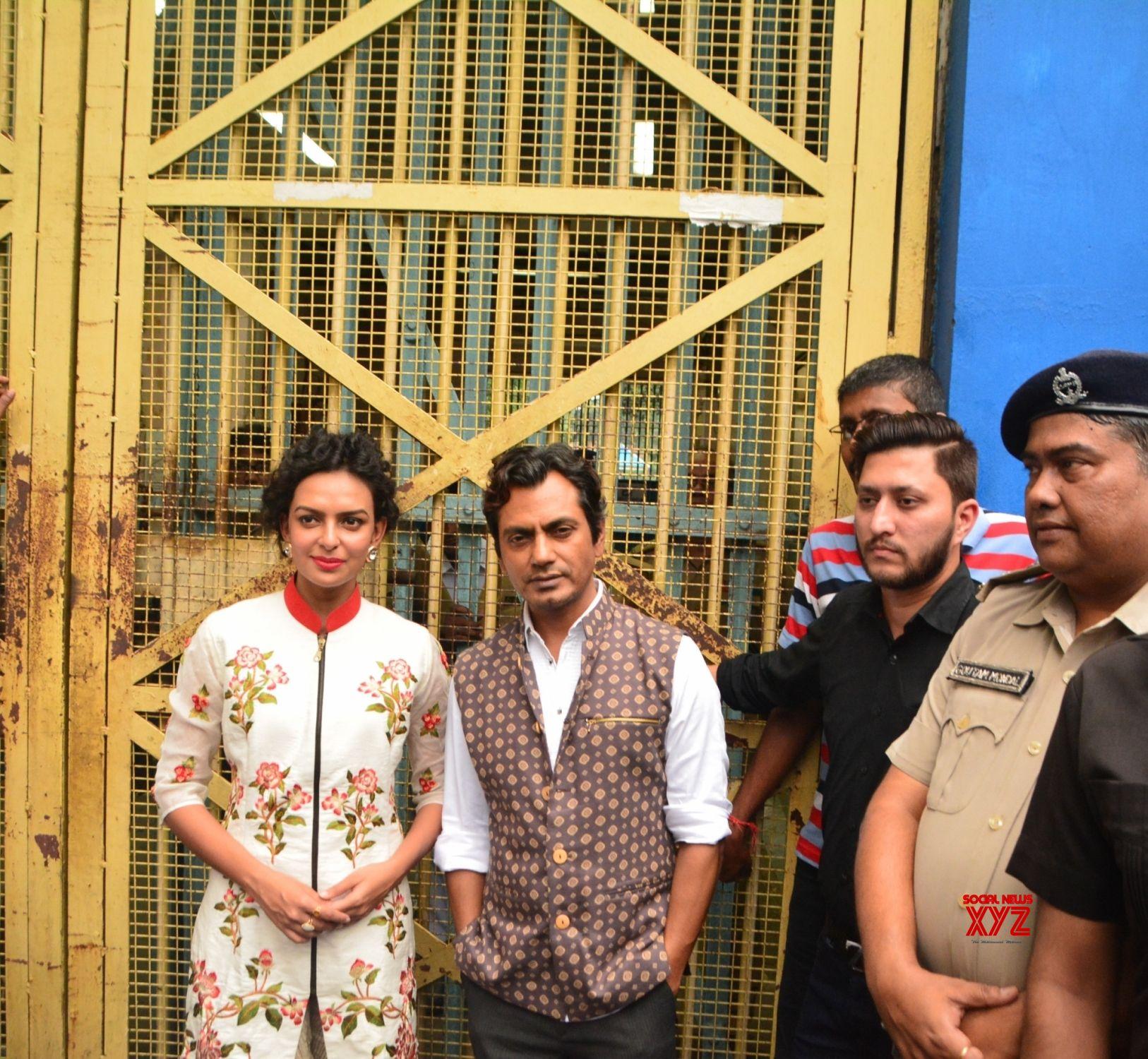 """Kolkata: """"Babumoshai Bandookbaaz""""   promotion"""