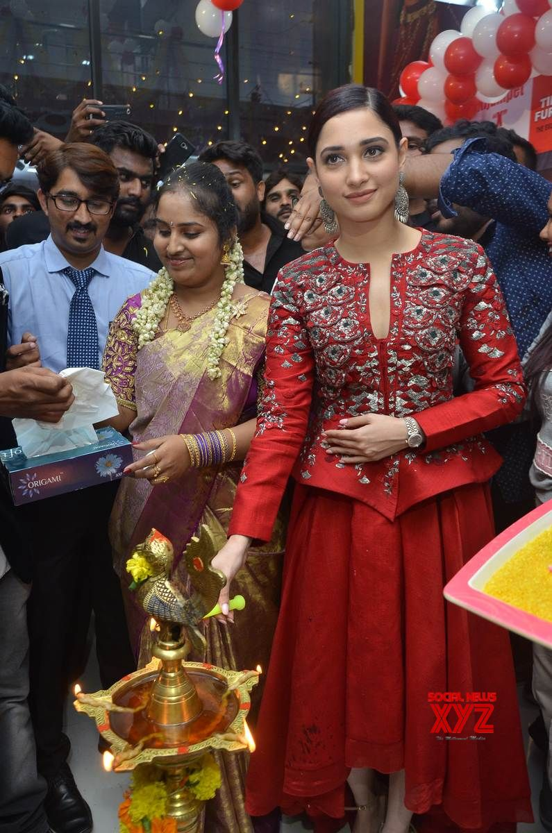 Tamannaah Launches Tirumala Furnitures At Nizampet Gallery