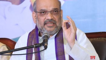 Image result for Shah calls to oust 'corrupt' Congress government in Karnataka