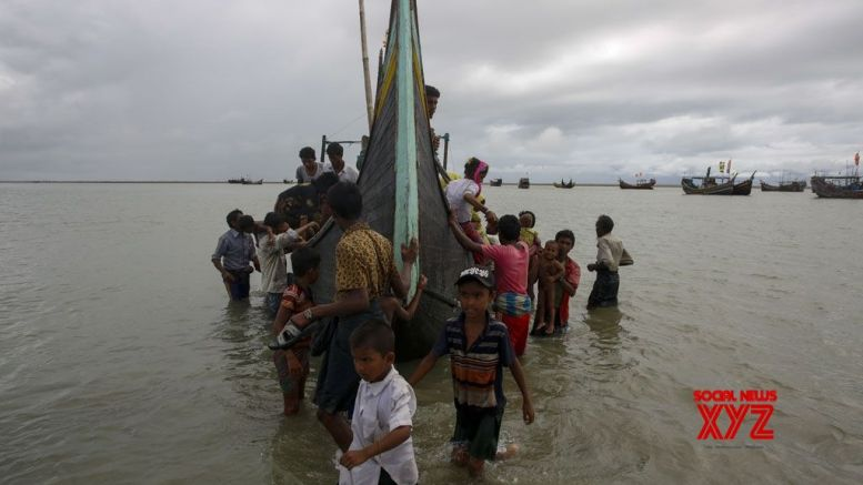 Rohingya refugees moved to camp in Indonesian