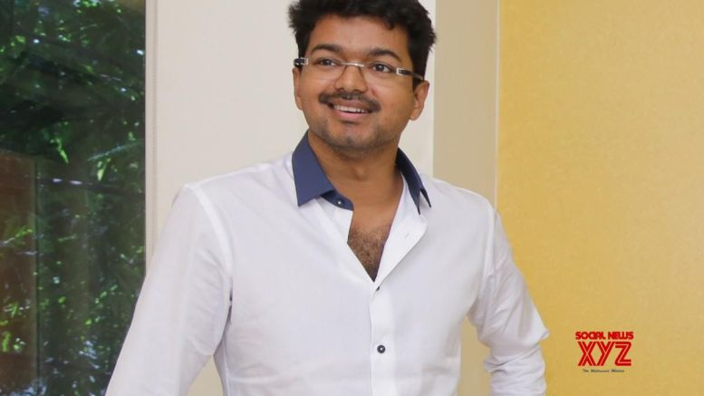 Income Tax officials at actor Vijay's residence once again