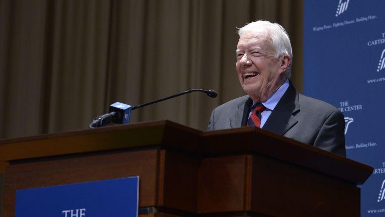 Carter calls Trump 'illegitimate' President, gets slammed