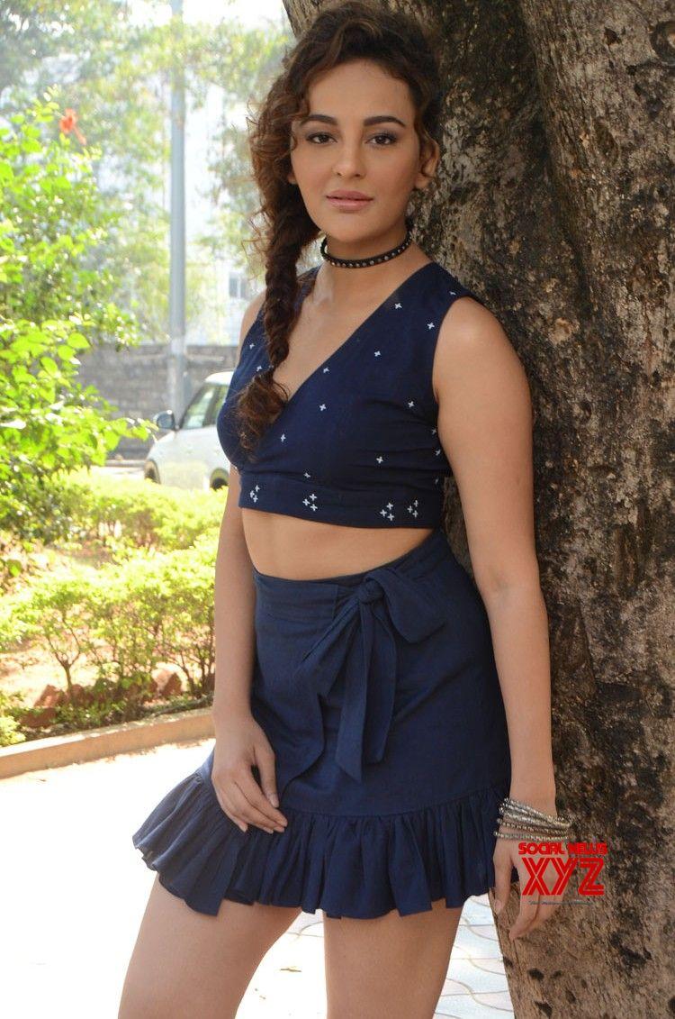 Actress Seerat Kapoor Stills From Okka Kshanam Movie Teaser Launch