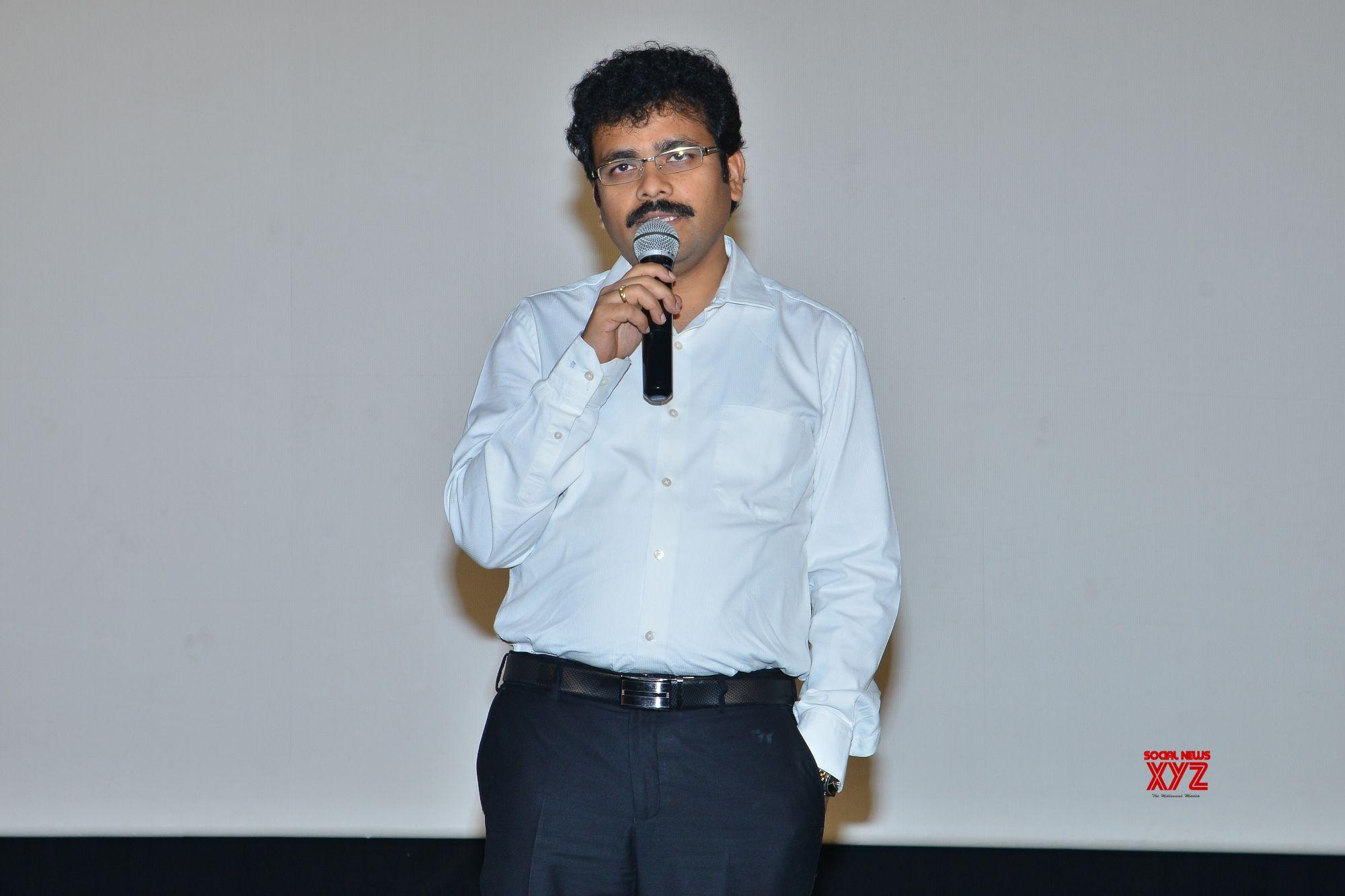 Saptagiri LLB Movie Producer Ravi Kiran Press Meet Stills