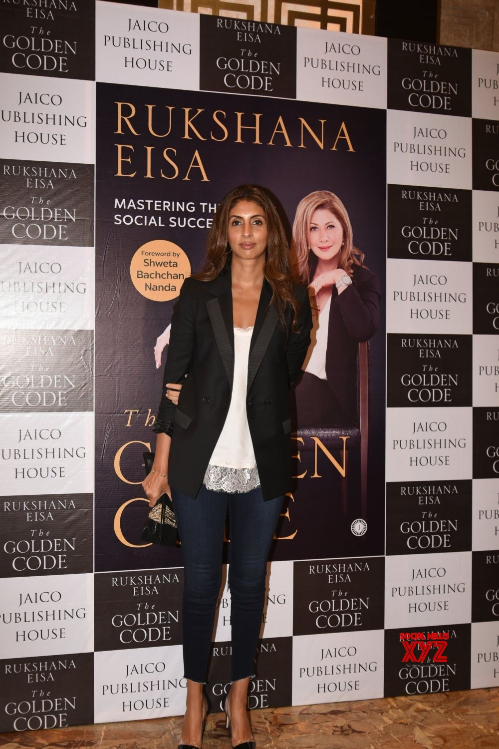 Mumbai: Shweta Bachchan Nanda and Rahul Khanna during a book launch