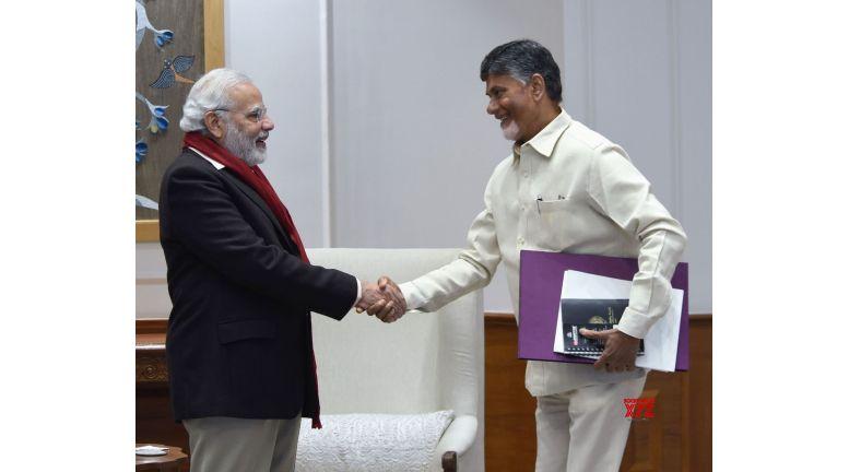 Andhra CM urges Modi to fulfil commitments