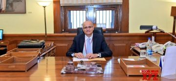 New Delhi: Vijay Gokhale, an Indian Foreign Service Officer of the 1981 batch, took over as Foreign Secretary of India from S. Jaishankar on Jan. 29, 2018. (Photo: MEA/IANS)