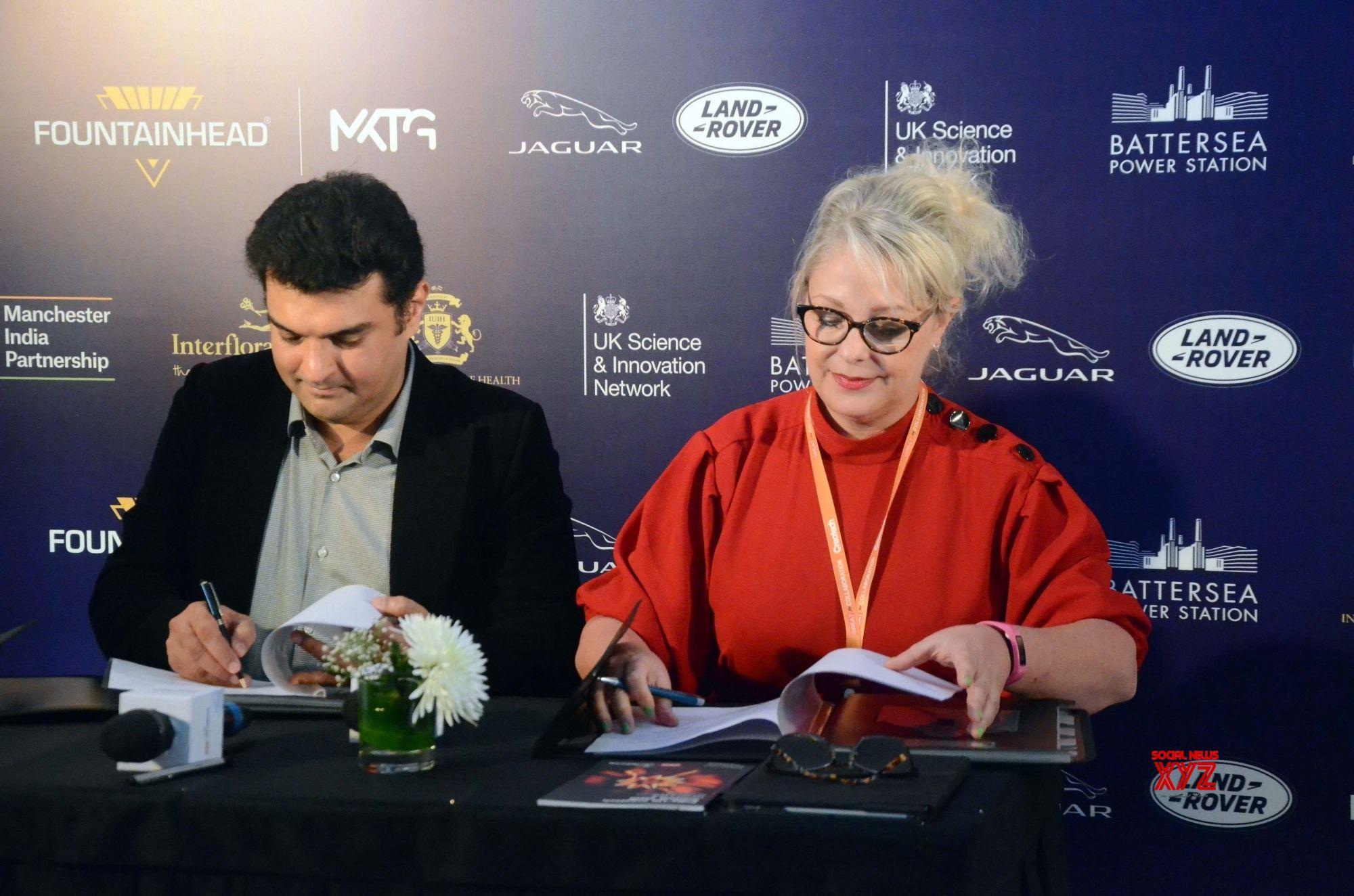 Mumbai: India UK Createch Summit   Siddharth Roy Kapur, Dawn McCarthy Simpson #Gallery