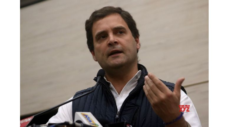 Rahul slams PDP-BJP for 'non-existent Kashmir policy'