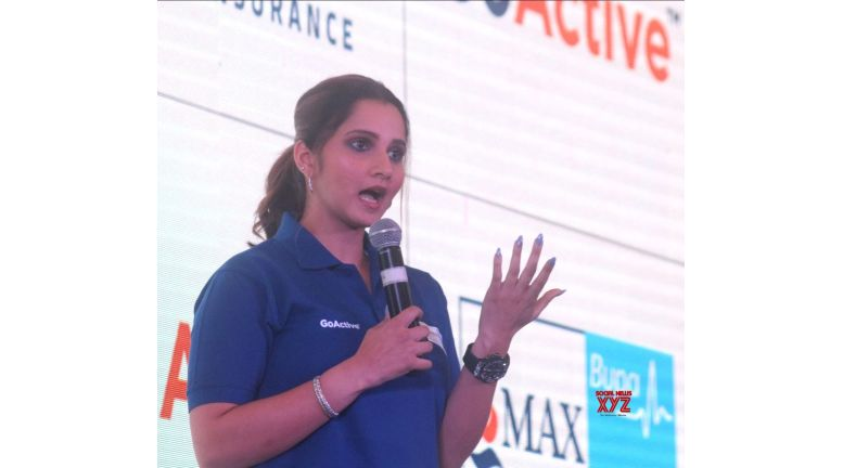 Sania highlights importance of health insurance
