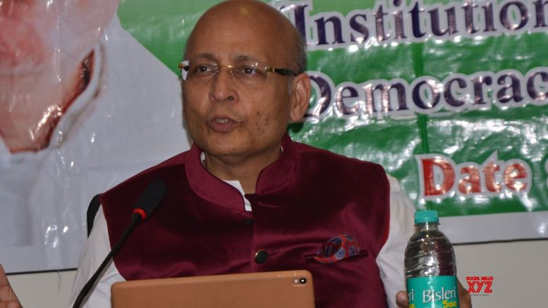 Singhvi advocates aggressive policy to counter China