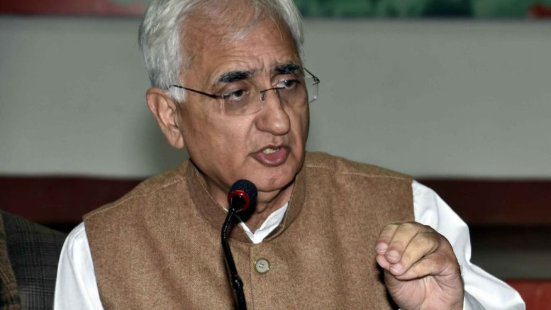 Salman Khurshid attacks critics in Congress