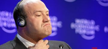 NEW YORK, March 6, 2018 (Xinhua) -- File photo taken on Jan. 29, 2009 shows Gary Cohn at the Annual Meeting 2009 of the World Economic Forum in Davos, Switzerland. White House National Economic Council Director Gary Cohn plans to resign, the White House said on March 6, 2018. (Xinhua/World Economic Forum swiss-image.ch/Sebastian Derungs/IANS)