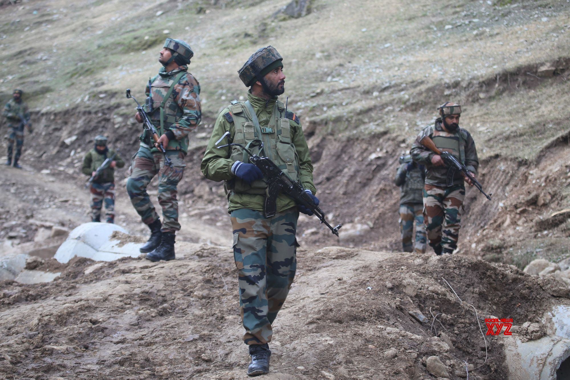 Army soldier injured in blast near LoC