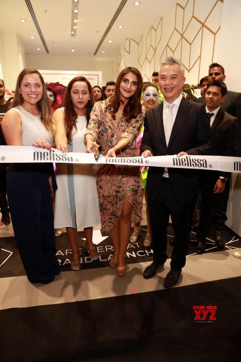 Vaani Kapoor launches Brazilian shoe brand Melissa in India