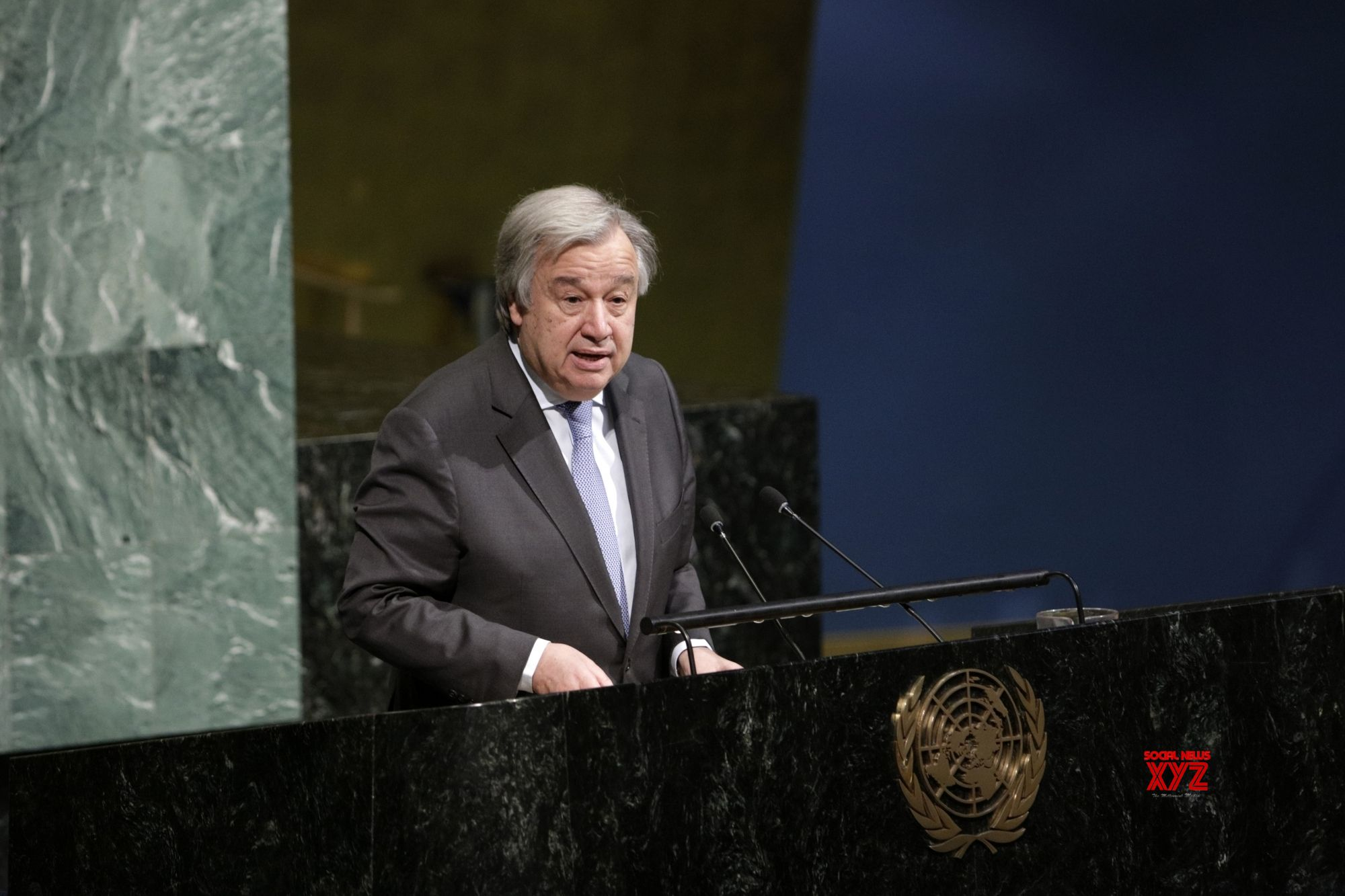UN chief asks world to prevent genocide