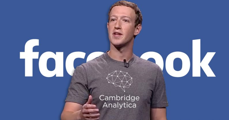 Facebook sued over Cambridge Analytica data scandal
