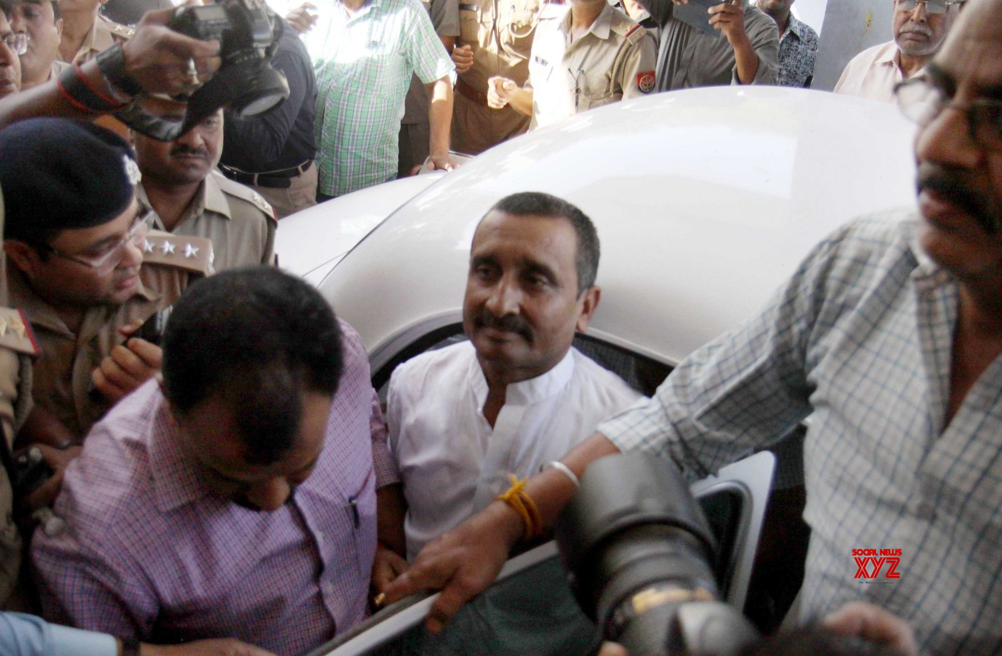 Unnao Case: Kuldeep Singh Sengar charged with murder of victim's father
