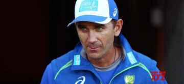 Justin Langer. (Photo: Twitter/@CAComms)