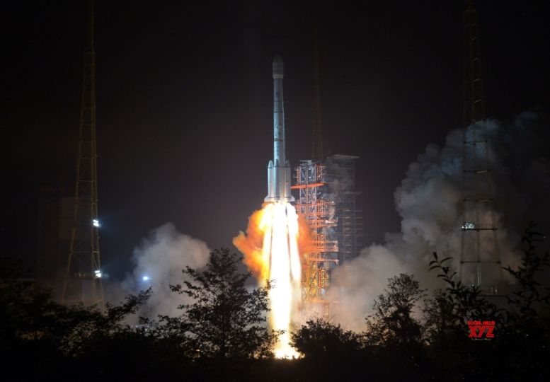 China launches lunar probe to study moon's far side