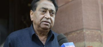New Delhi: Congress MP Kamal Nath at the Parliament in New Delhi on Dec 18, 2015. (Photo: IANS)