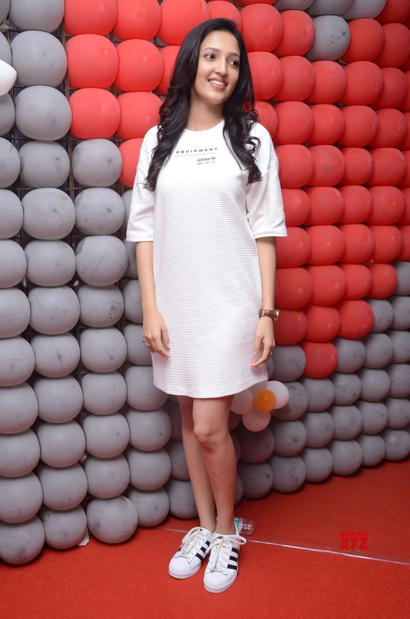 Actress Neha Shetty Stills From Mehbooba Movie Pre Release Press