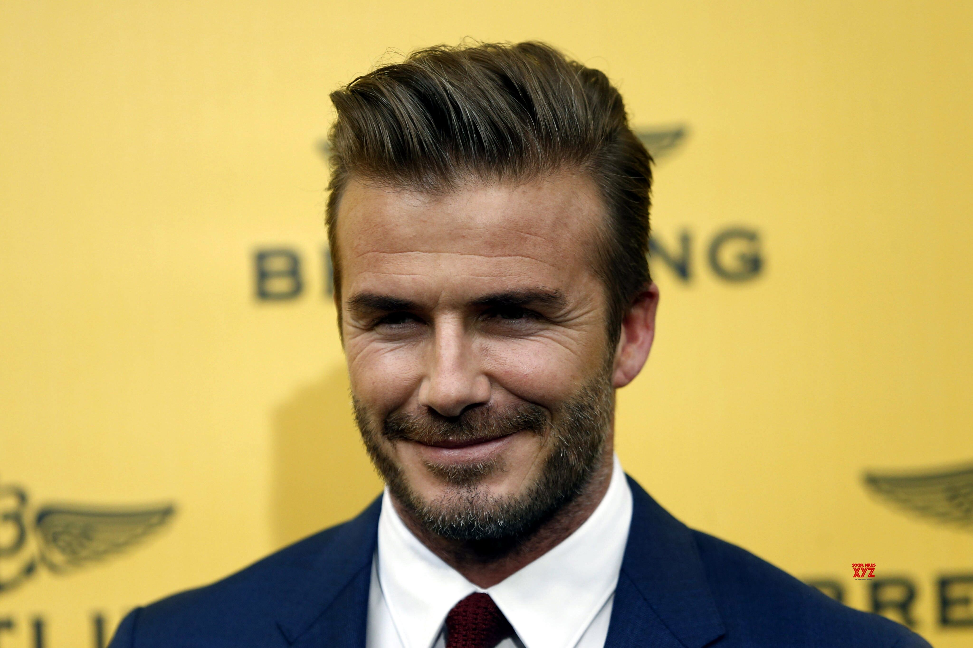 Beckham thanks 'brave' healthcare workers in COVID-19 fight