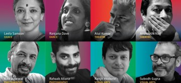 Curators for each of the themes of the Serendipity Arts Festival 2018