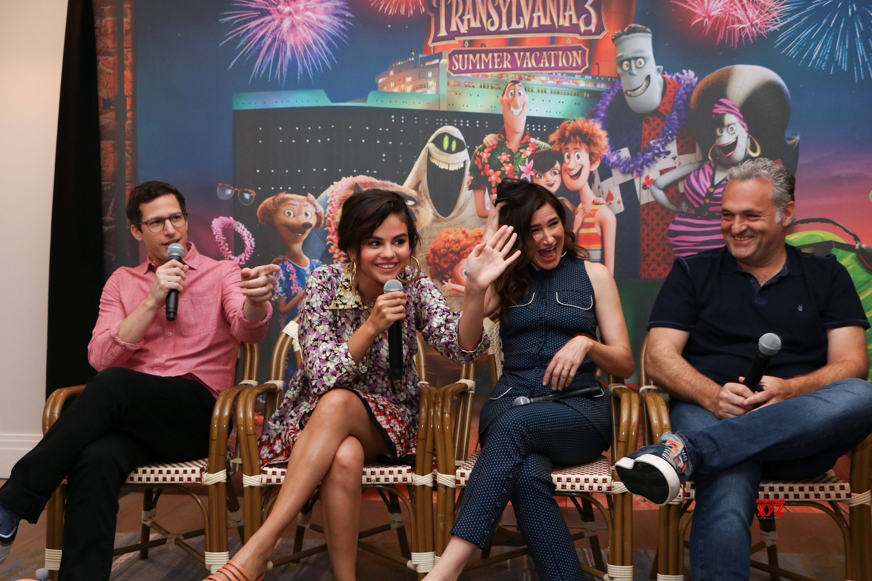Hotel Transylvania 3 Summer Vacation Movie Los Angeles Press Conference Gallery