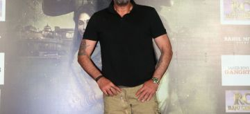 "Mumbai: Actor Sanjay Dutt at the trailer launch of his upcoming film ""Saheb, Biwi Aur Gangster 3"" in Mumbai, on June 30, 2018. (Photo: IANS)"