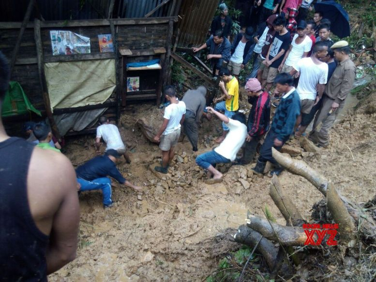 11 feared killed in Manipur landslides, flooded river