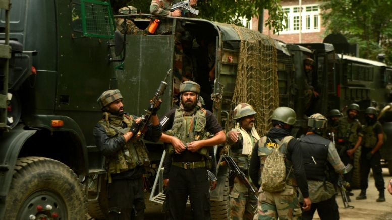 Militants fire at CRPF post in Pulwama