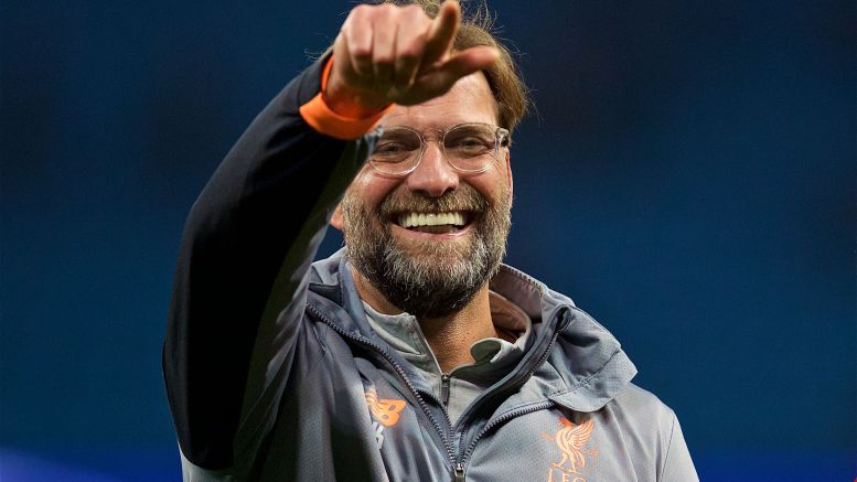 Liverpool's Klopp named Manager of the Month for Sep