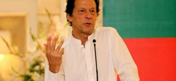 ISLAMABAD, Aug. 6, 2018 (Xinhua) -- Imran Khan, chairman of Pakistan Tehreek-e-Insaf (PTI) party, speaks during an event in Islamabad, capital of Pakistan, on Aug. 6, 2018. Pakistan Tehreek-e-Insaf (PTI), or the Movement for Justice party, on Monday formally nominated its chief Imran Khan as the candidate for the office of the prime minister, party officials said. (Xinhua/PTI/IANS)