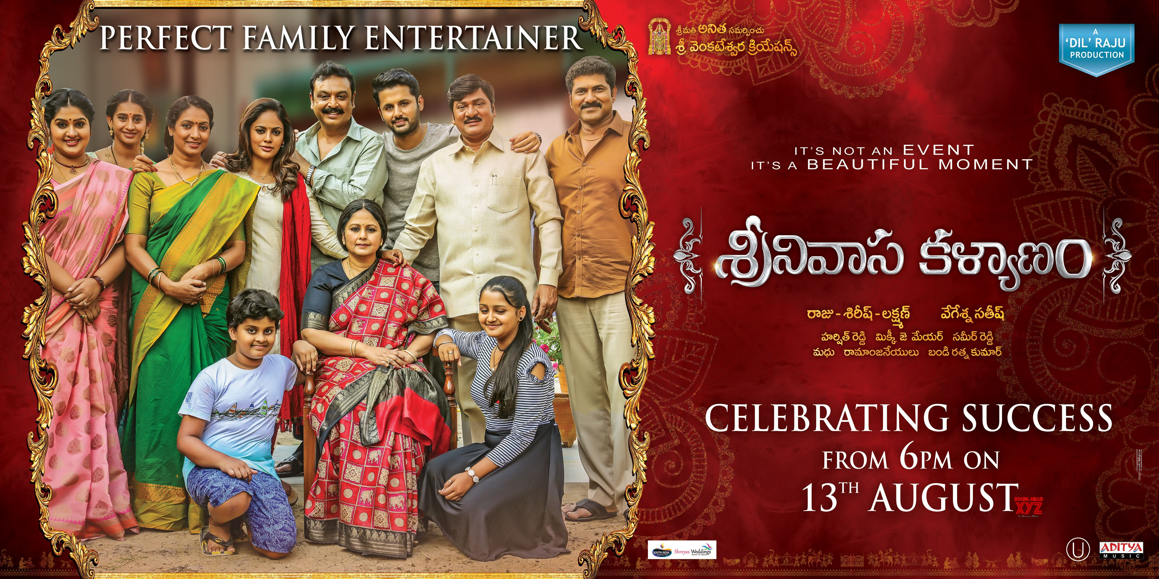 Srinivasa Kalyanam Success Meet Poster Social News Xyz