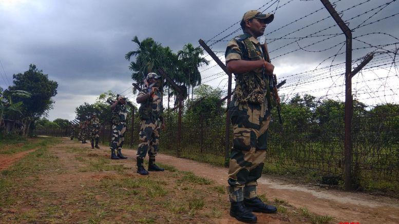 Rebuilding temple: Security stepped up along Tripura-Mizoram border