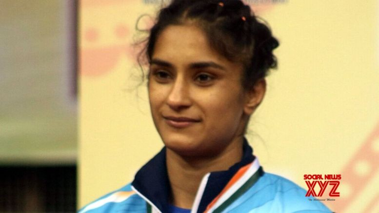Wrestler Vinesh wins second gold on the bounce