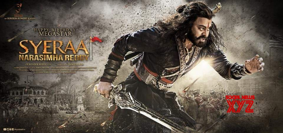 Here is the latest update from 'Sye Raa'!