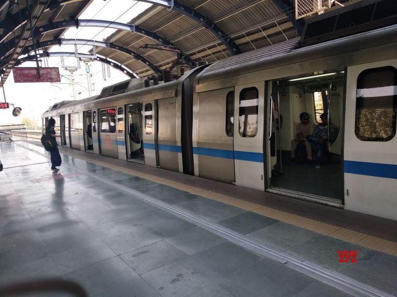 Woman dragged as saree gets stuck in Metro door