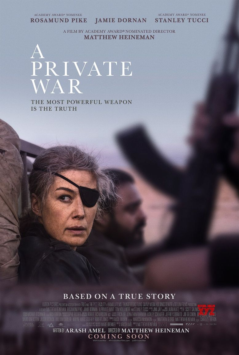 'A Private War' to release in India in November