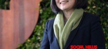 Tsai Ing-wen. (Photo: Twitter/@iingwen)