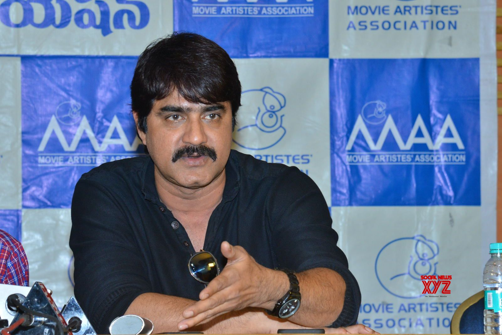 Maa Association Funds Misuse Controversy Press Meet Gallery