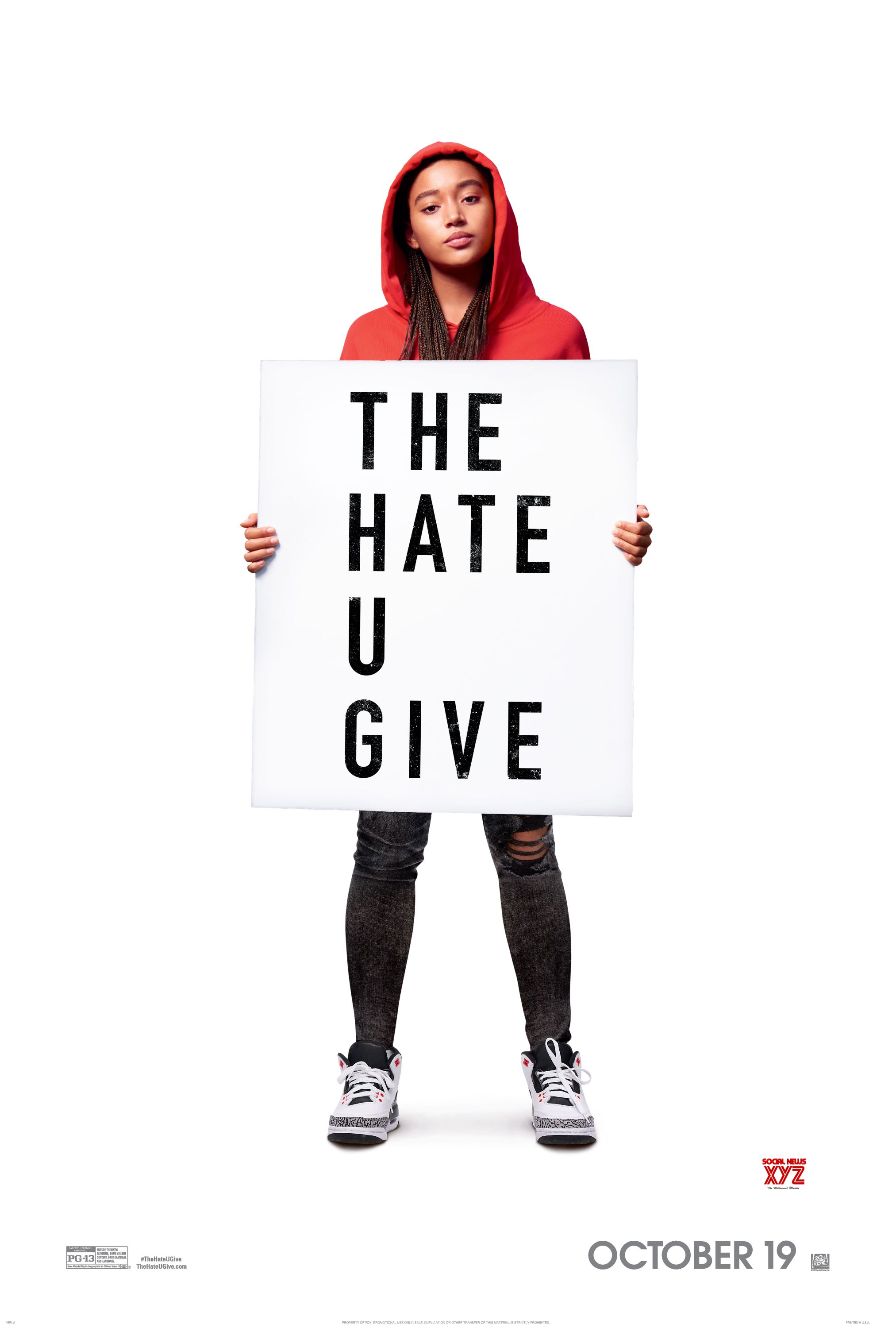 The Hate U Give Movie Hd Posters Social News Xyz