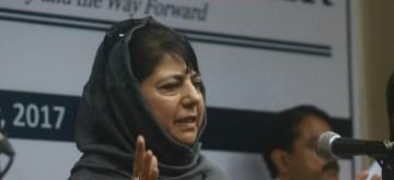 Jammu and Kashmir Chief Minister Mehbooba Mufti. (File Photo: IANS)