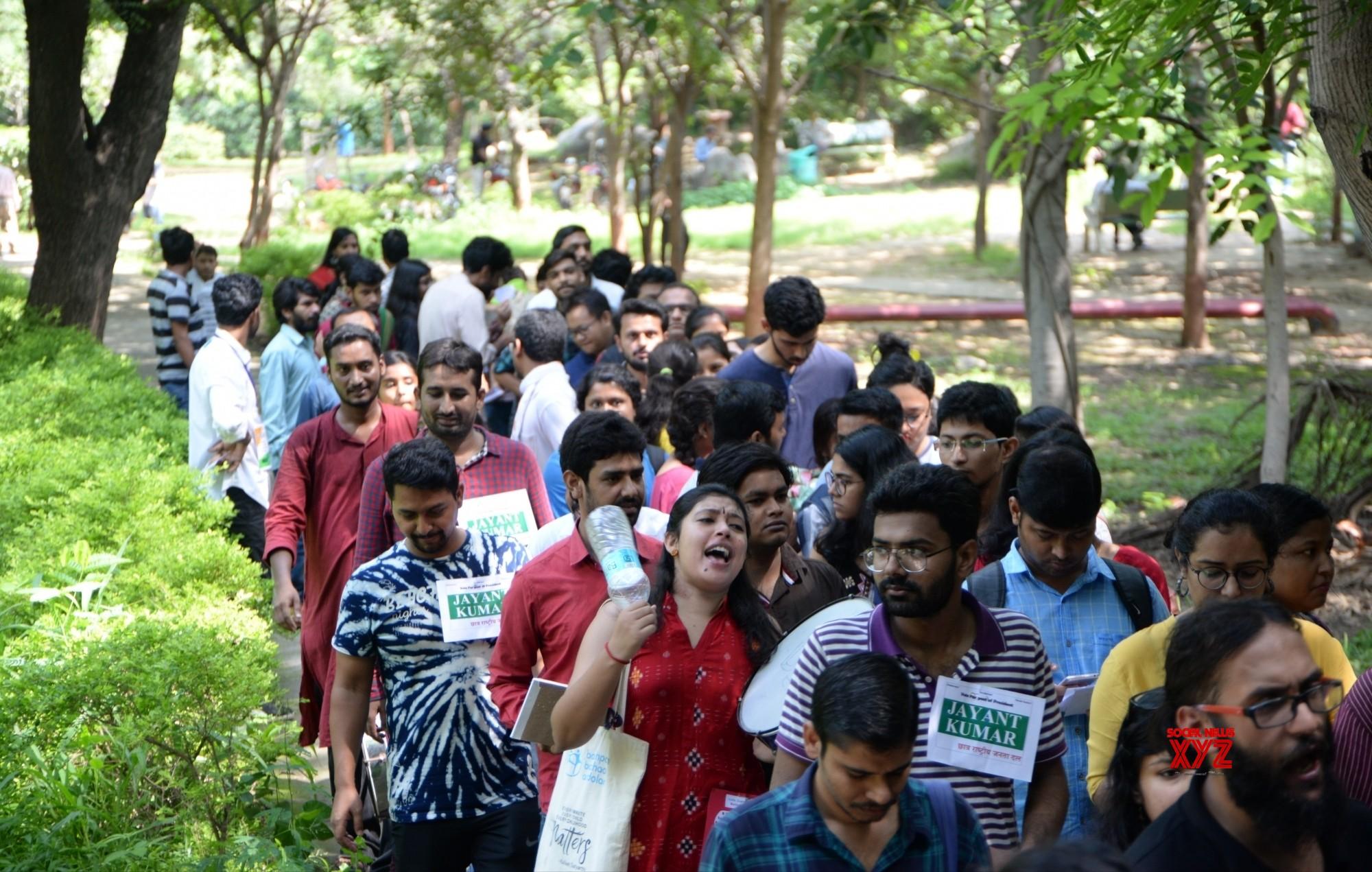 JNUSU election records highest-ever 70% polling